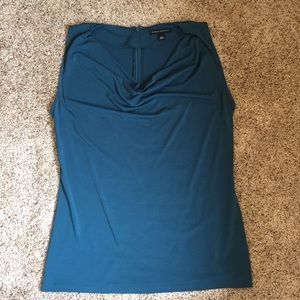 Teal shell top from Banana Republic; size M; EUC